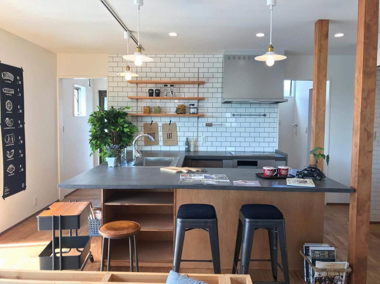 カリフォルニア スタイル キッチン